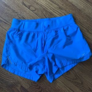 Nike Dry Fit blue shorts size small